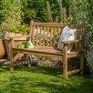 dCor design 2 Seat Wood Bench