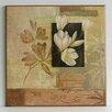 Wildon Home Flowers Fine Art 'Oriental Flowers III' Painting Print on Paper