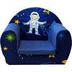 Just Kids Space Boy Children's Foam Chair