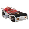 Just Kids Wyvis Sonic Racer Single Car Bed with Storage