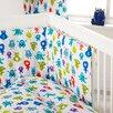 HoneyBee Nursery Monsters 3 Piece Cot Bedding Set