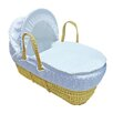 HoneyBee Nursery Dimple Moses Basket