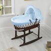 HoneyBee Nursery Waffle Moses Basket with Stand