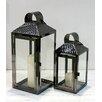Bel Étage 2 Piece Steel Lantern Set