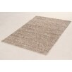 House Additions Curly Dark Beige Area Rug