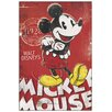 House Additions Mickey Mouse Unique Since 1928 Vintage Advertisement on Wood