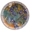 "House Additions Oversized 60"" Van Gogh Irises Wall Clock"