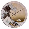 "House Additions Oversized 60"" Hokusai The Great Wave of Kanagawa Wall Clock"