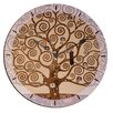 "House Additions Oversized 60"" Klimt The Tree of Life Wall Clock"