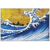 House Additions Great Wave' by Katsushika Hokusaii Graphic Art Print on Wood