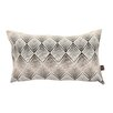 Yorkshire Fabric Shop Normandie Chevron Lumbar Cushion