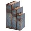 Breakwater Bay 3 Piece Wood Book Box Set