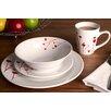 All Home Porcelain 16 Piece Dinnerware Set