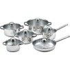 king Silver Line 6 Piece Cookware Set