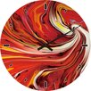 Hazelwood Home Wanduhr Marbled Swirl