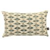 Yorkshire Fabric Shop Ella Ikat Lumbar Cushion