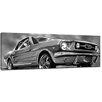 Bilderdepot24 Mustang Graphic Framed Graphic Art