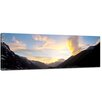Bilderdepot24 Natural Phenomenon in Caucasus, Elbrus Framed Photographic Print