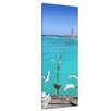Bilderdepot24 Lighthouse in Puerto Morelos Mayan Riviera Framed Photographic Print