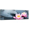 Bilderdepot24 Lotus Bloom Framed Photographic Print on Canvas