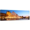 Bilderdepot24 Louvre Museum in Paris Framed Photographic Print on Canvas
