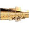 Bilderdepot24 African Savanna 5 Piece Photographic Print on Canvas Set