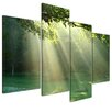 Bilderdepot24 Gift of Light 4 Piece Photographic Print on Canvas
