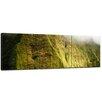 Bilderdepot24 Mt. Kauai Waialeale Waterfall in Regen, Hawaii 3-Piece Photographic Print Set on Canvas