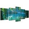 Bilderdepot24 Kurşunlu Waterfalls 5-Piece Photographic Print on Canvas Set