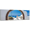 Bilderdepot24 Window to Paradise 3-Piece Photographic Print on Canvas Set