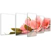 Bilderdepot24 Orchid 5-Piece Photographic Print on Canvas Set