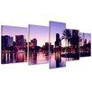 Bilderdepot24 Orlando 5-Piece Photographic Print on Canvas Set