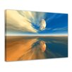 Bilderdepot24 Sky Framed Photographic Print on Canvas