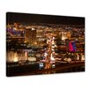 Bilderdepot24 Las Vegas Strip at Night Framed Photographic Print