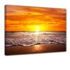 Bilderdepot24 Beach Sunset I Framed Photographic Print