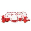 House Additions 2 Tone 24 Piece Dinnerware Set