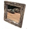 Castleton Home Square Driftwood Accent Mirror