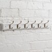 Maine Furniture Co. Heritage Wooden Coat Rack with 6 Hooks