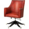 Curzon Gallery Collection Trafalgar Mid-Back Leather Desk Chair