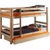 Vipack Etagen-Hochbett Pino mit Bettschublade, 90 x 200 cm