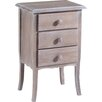 Castagnetti Ether 3 Drawer Bedside Table