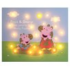 Caracella Peppa & George Muddy Puddle Graphic Art on Wrapped Canvas