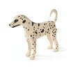 Darby Home Co Handpolished Wood and Resin Dog Figurine