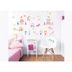 dCor design Unicorn Kingdom 3 Piece Wall Sticker Set
