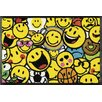 Home Loft Concept Smiley Allover Doormat