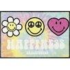 Home Loft Concept Smiley Happiness Doormat