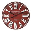 Castleton Home Oversized 3D Grand Hotel 60cm Wall Clock