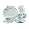 Creatable Gloria Meissen 18 Piece Porcelain Tea Set