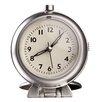 Control Brand Metal Travel Alarm Tabletop Clock