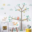 dCor design Woodland Tree & Friends Wall Sticker
